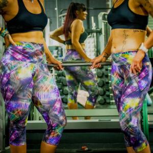 High waist tights and mid waist tights comparison